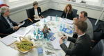 Expert round table at Eppendorf Headquarters in Hamburg, Germany