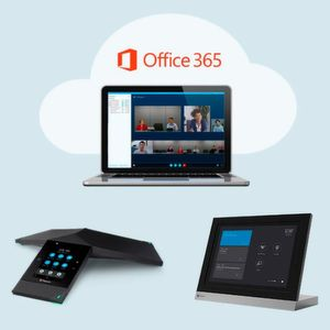 Polycom bindet seine Produkte tiefer in Microsoft Office 365 ein.