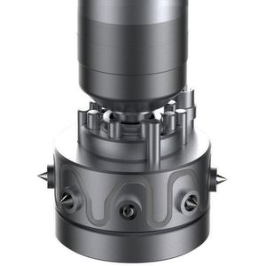 The Okta Flow type OMT multi-tip hot-runner nozzle is designed for direct side gating of products in compact, multi-cavity moulds.