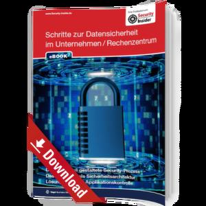 eBook: Schritte zur Datensicherheit im Unternehmen / Rechenzentrum