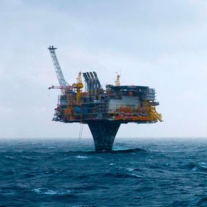 Draugen oil field in the Norwegian Sea is located approx. 150 km to the North of Kristiansund.