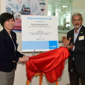 (From left) Tina Low, Vice President, BASF Nutrition & Health Asia Pacific, and Raman Ramachandran, Head South Asia and Chairman and Managing Director, BASF India