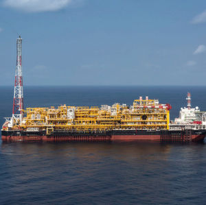 CLOV is a deep-sea oil production project offshore Angola.
