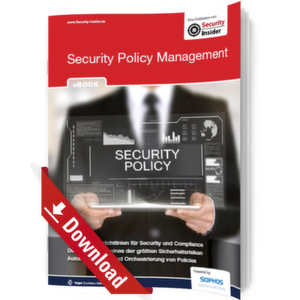 eBook: Security Policy Management