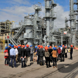 Novacap's new plant, built on the Roussillon chemical platform, will have capacity of circa 5,000 tons DIPE.