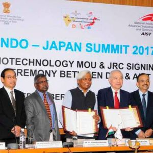 India and Japan have recently signed a MoU for expansion of an international laboratory in the area of biotechnology.