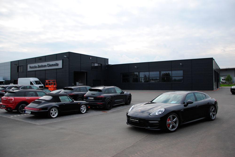 Bilder  Porsche-Zentrum Chemnitz eröffnet Neubau ccc784fbb4f7