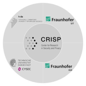 Im Center for Research in Security and Privacy (CRISP) in Darmstadt arbeiten Wissenschaftler an Kernfragen der Cybersicherheit in Gesellschaft, Wirtschaft und Verwaltung.