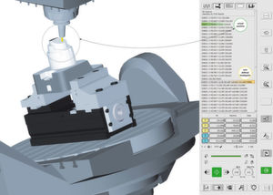 Actual machining operations are mapped virtually with Hyper-Mill Virtual Machining Center, allowing for a comprehensive simulation.