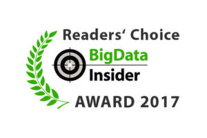 Die BigData-Insider Readers' Choice Awards 2017.