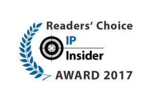 Die IP-Insider Readers' Choice Awards 2017.