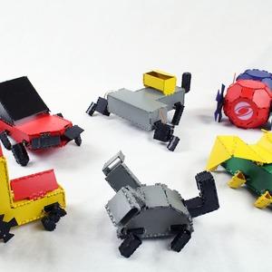 der individuelle roboter aus dem 3d drucker. Black Bedroom Furniture Sets. Home Design Ideas