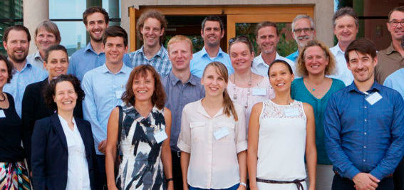 Die Projektpartner beim Kick-Off-Meeting in Freiburg im August 2017