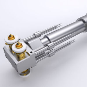 According to the company, the Ultra Side Gate Inline hot runner is ideal for long and thin parts as well as for part spacing as low as 18mm.