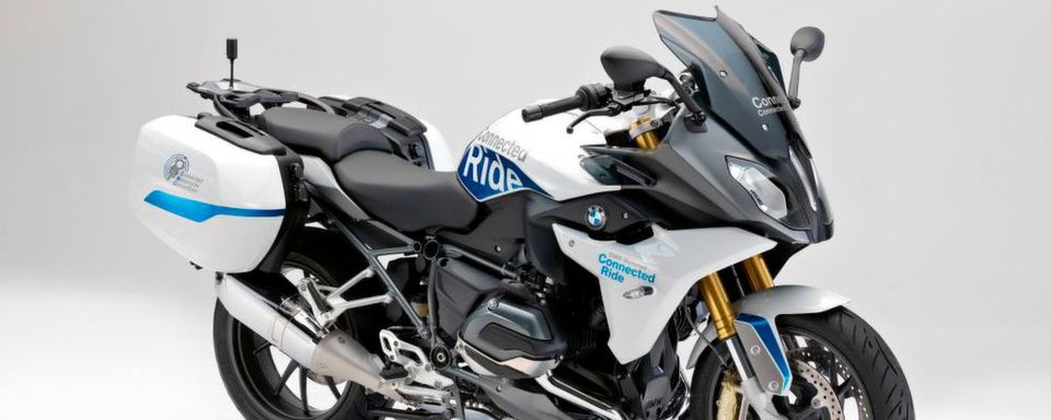Die BMW R 1200 RS Connected Bike
