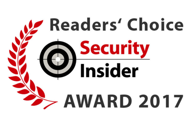 Die Security-Insider Readers' Choice Awards 2017.