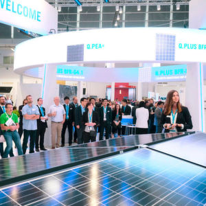 Visitors at the last edition of Intersolar.