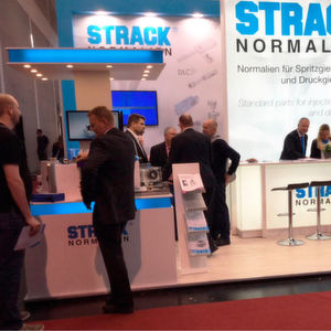 Many visitors were attracted by the offerings of Strack Norma at Fakuma 2017.