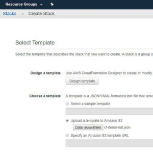 Aws Cloudformation Templates | Cf Template Fur Aws Ressourcen Erstellen