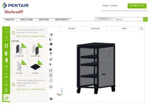 Figure 1: Screenshots from the 3D product configurator.