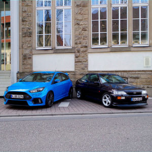 Ford Escort RS Cosworth vs. Focus RS