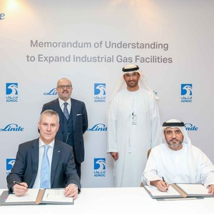 Linde and Adnoc Sign MoU to Explore New Industrial Gases Complex