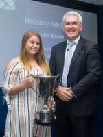 Bethany Addis won Engineering Apprentice of the Year.