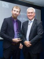 Joe Kennie won the Post-First Year Craft Apprentice of the Year Award.