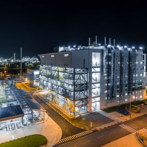 BASF's new world-scale chemical catalysts manufacturing plant in Caojing, Shanghai