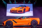 Chevrolet bringt 2018 die Corvette in der 765 PS starken Version ZR1 in den Markt.