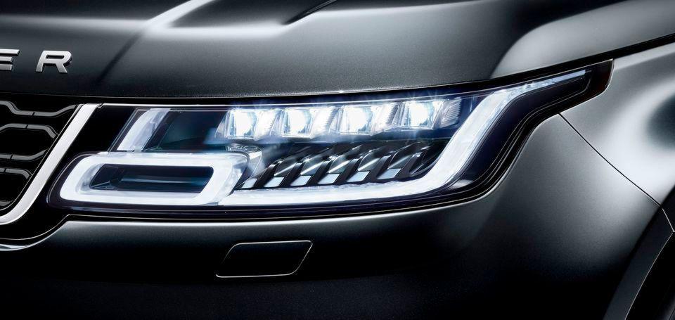 Range Rover spendiert seinen SUVs Scheinwerfer mit Smartix-LEDs und ...
