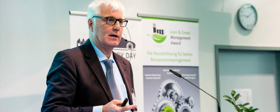 Klaus Müller von Bionic Production referierte beim Smart Factory Day zu den Möglichkeiten von additiver Fertigung und bionischem Design.