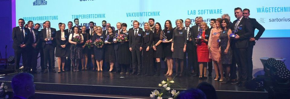 Die Gewinner der Meilenstein-Awards in Labor + Analytik 2017.