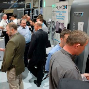 80 visitors from more than 50 companiescame together at Hurco's showroom in High Wycombe for the company's open-house event.