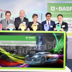 BASF Launches New Automotive Coatings Production Plant