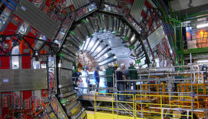 The CMS detector in the Large Hadron Collider with which Pekkanen and thousands of other physicists work at Cern.
