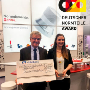 Prechtl Engineering receives the German Standard Parts Award in 2017.