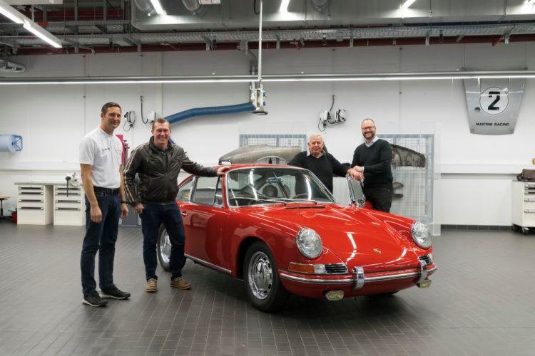 Bilder  Porsche 901  Einer der ersten 911er kehrt zurück bbcb3a8e9156