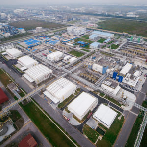 BASF's Automotive Coatings Plant in Shanghai, China