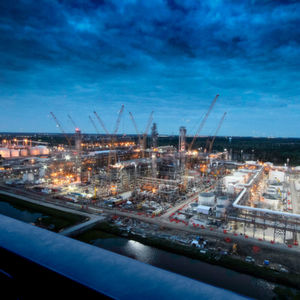 Chevron's ethane cracker at Cedar Bayou is expected to produce at least 1.5 million metric tons of product annually.
