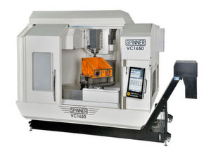 The new Spinner VC1650 5-axis machining centre marketed by Whitehouse Machine Tools in the UK and Ireland.