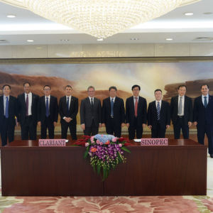 Senior management from Clariant and Sinopec met in Bejing, China to sign the agreements.
