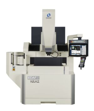 The upgraded EDAF series now has a new design and Makino's popular H.E.A.T. technology.