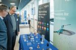Visitors could obtain information at the exhibition stand about the products and services of the exhibitor.