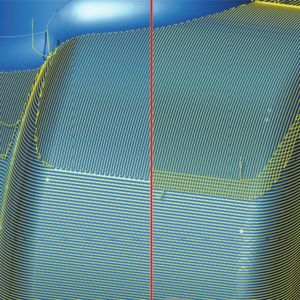 "The ""soft overlap"" function of the software allows for optimal surfaces in transition areas."