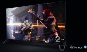 Enorme 65 Zoll Diagonale haben die Big Format Gaming Displays.
