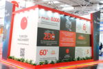 Turkish Machinery's exhibition stand.
