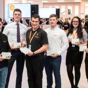 First step to a rewarding and challenging career for 50 at Renishaw