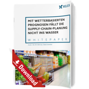 Wetterbasierte Prognosen revolutionieren die Supply Chain