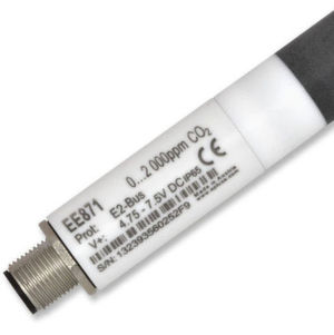 The EE871 CO2 sensor is highly resistant to hydrogen peroxide.